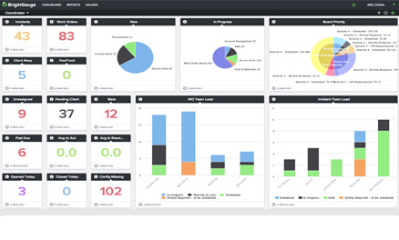 Dashboard & Gauges for Epicor Image