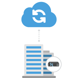 Hybrid Cloud Solutions Axcient Disaster Recovery and Backup Solution