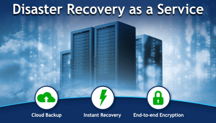Disaster Recovery as a Service DRaaS Backup and Disaster Recovery