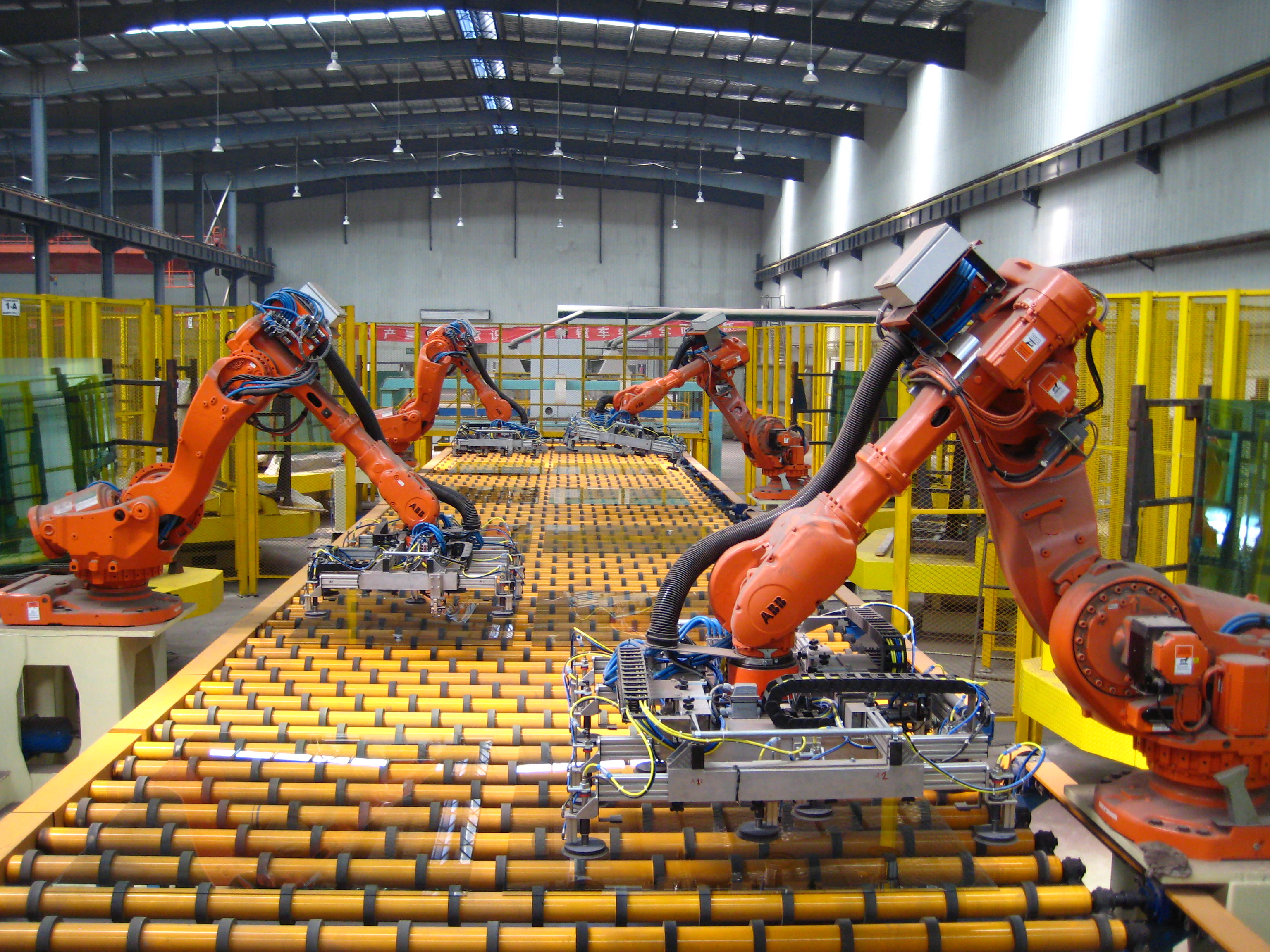 manufacturing automation robots cabots manufacturers
